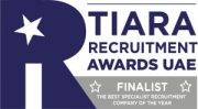 Recruitment-award-UAE-Finalist the best specialist recruitment company of the year