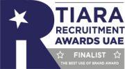 Recruitment-award-UAE-Finalist the best use of brand award